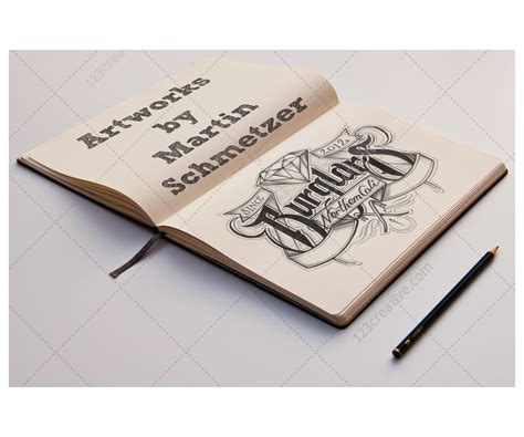sketch book buy sketch book mockups present your illustrations sketches