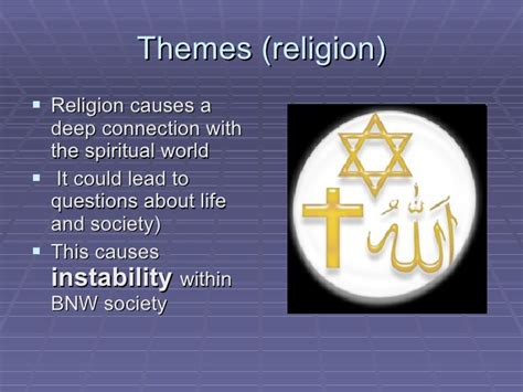 theme of religion in brave new world brave new world