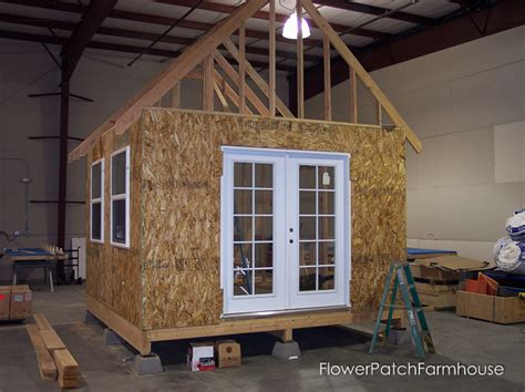 she shed office building my she shed flower patch farmhouse