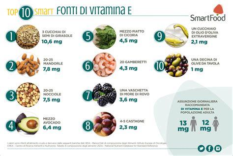 vitamina e alimenti alimenti ricchi di vitamina e