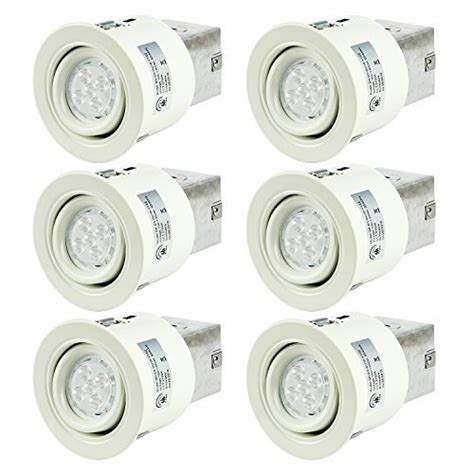 3 led recessed lighting kit sgl 3 inch led recessed lighting kit with gu10 dimmable 6w