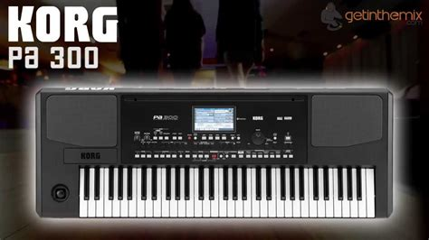 Keyboard Korg Pa300 Baru korg pa300 professional arranger keyboard