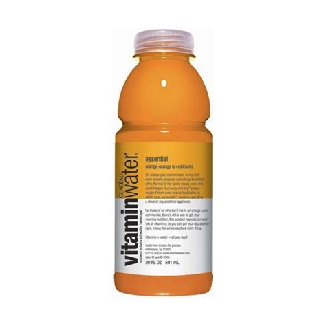 Vitamin Watter Vitamin Water Essential Orange Select Drink Inc