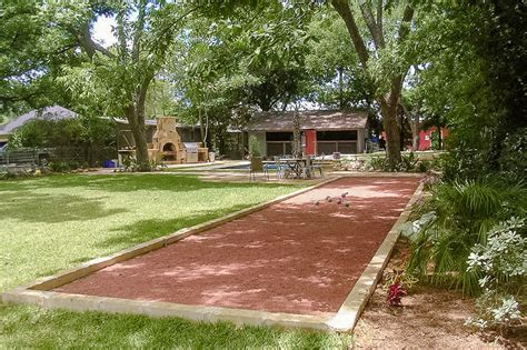 backyard bocce court bocce ball court google search picnic arbor