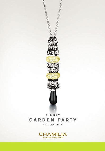 black yellow chamilia necklace chamilia