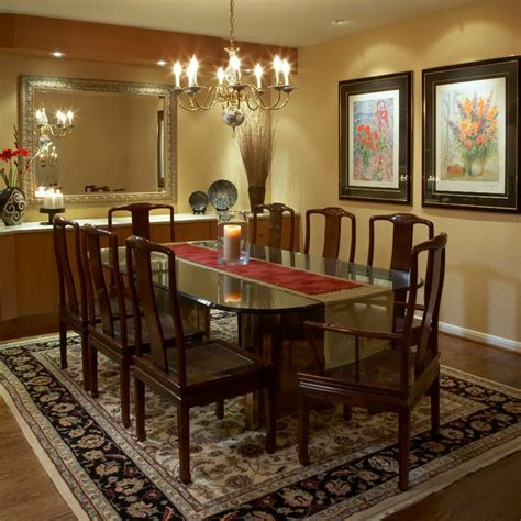 Dining Room Decorating Ideas Gold Carpet For Traditional Dining Room Ideas With