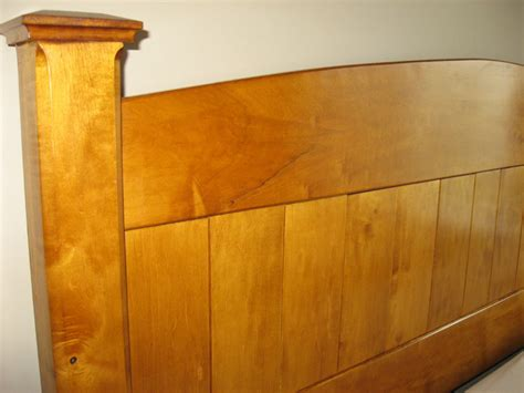 Maple Headboard Maple Headboard By Minnersota Lumberjocks