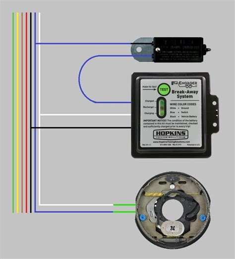 electric trailer brake wiring diagram