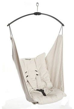 Bouncer Swing Hammock hushamok myseat modern baby swings and bouncers products