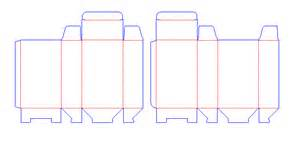 cigarette box template cigarette pack dimensions images