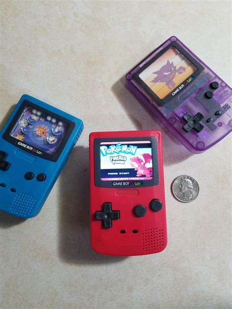 gameboy micro modifications creato un game boy color nano grazie a burger king
