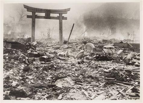 imagenes reales bomba hiroshima fotos nagasaki un d 237 a despu 233 s de la bomba at 243 mica en unas
