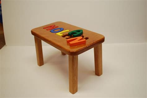 Puzzle Step Stools by Chairs Stools Larue Woodworking