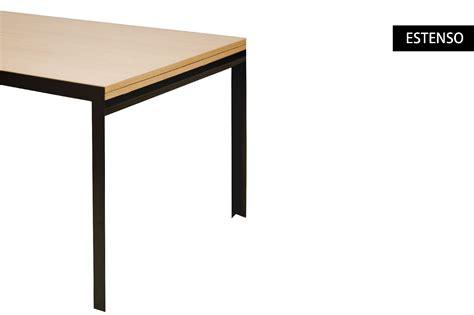 zanotta tavolo zanotta tavolo estenso in acciaio grafite e legno in