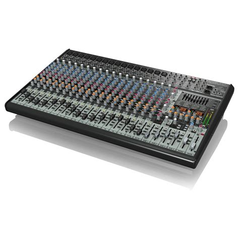 behringer eurodesk sx2442fx 24 channel analog mixer at gear4music