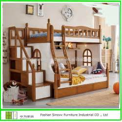 903 selling kids double deck bed cheap wooden bunk bed
