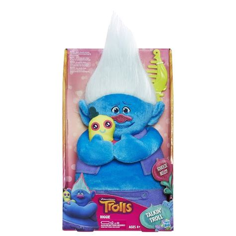 biggie and the disastrous dreamworks trolls books biggie talkin trolls doll at mighty ape australia
