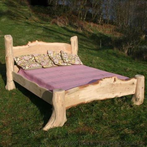 Rustic Oak Driftwood Bed Stunning Wooden Bed Frame Handmade Wooden Bed Frames