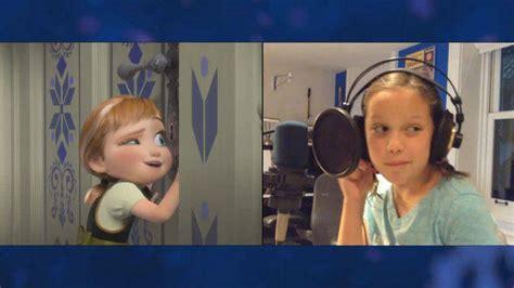 film frozen young lengkap quot voices of young elsa anna quot clip the story of frozen