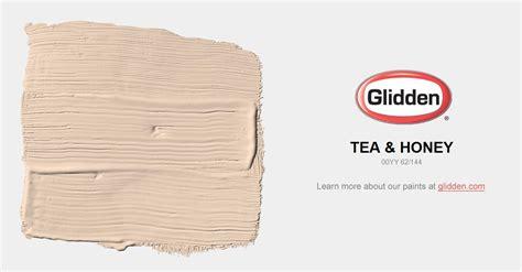 tea honey paint color glidden paint colors