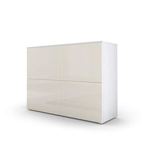 kommode creme hochglanz kommode sideboard rova in wei 223 matt creme hochglanz