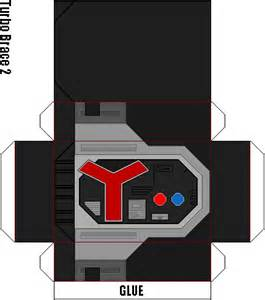 How To Make Power Rangers Morpher With Paper - paper buckler page 25 rangerboard