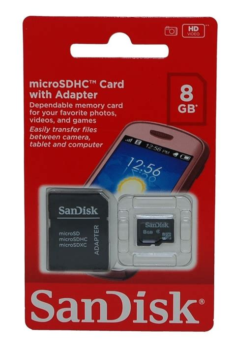 Original Sandisk 8g 8gb cartao de memoria micro sd sandisk 8g adaptador