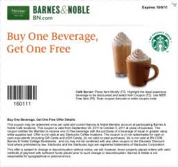 Barnes And Noble Coupon Codes Free Printable Starbucks Coupon June 2017