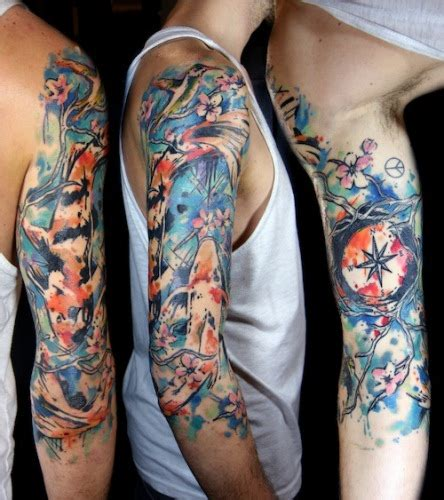 30 best full sleeve tattoo designs and ideas for men 2017