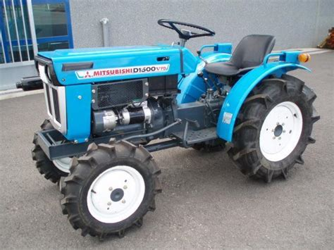 mitsubishi d1300f dt 4x4 tractor from spain for sale at