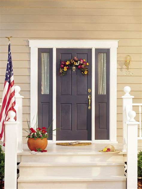 diy front door popular colors to paint an entry door diy