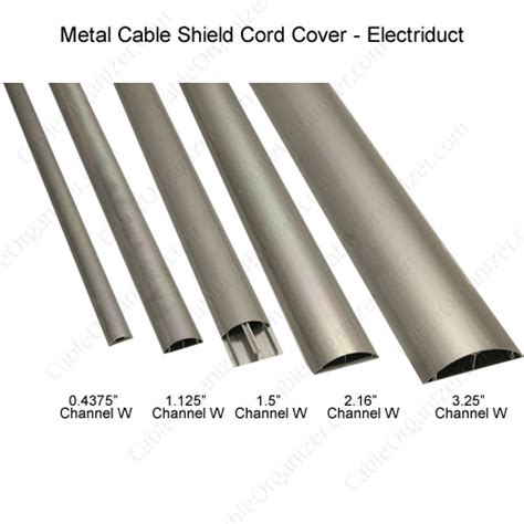 Cord Cable Protector Metallic Motif metal cable shield floor cord cover cableorganizer