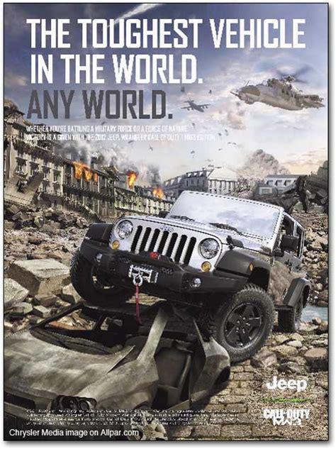call of duty jeep modern warfare wrangler call of duty modern warfare 3 edition