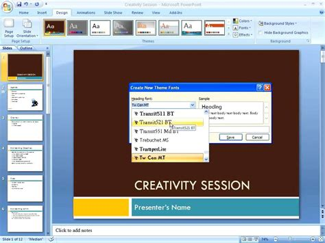 theme powerpoint 2010 v kinh t powerpoint 2007 creating custom themes youtube