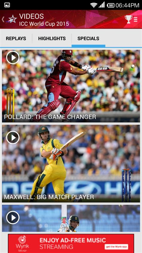 live cricket on mobile starsports android app for live cricket on