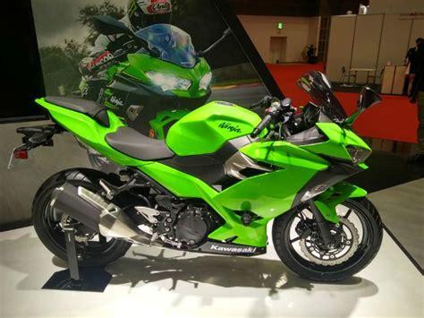 kawasaki ninja 250 motor tokyo motor show 2017 kawasaki ninja 250 unveiled zigwheels