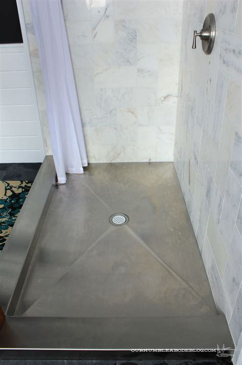 Metal Shower Pan by Reader Question Bathroom Fixtures Our Humble Abode