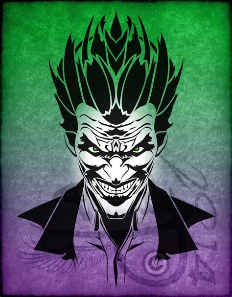 tribal joker tattoo designs tribal the joker v1 by amoebafire on deviantart