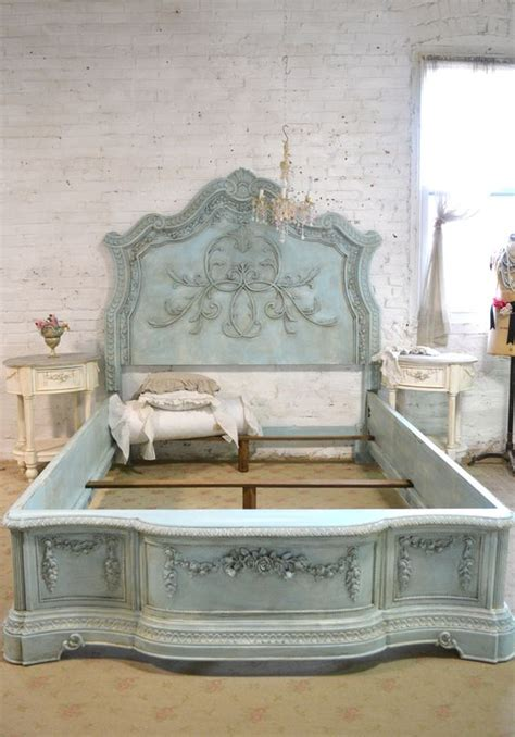 Pinterest The World S Catalog Of Ideas Shabby Chic Bed Frame King