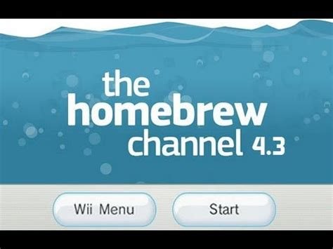 how to hack nintendo wii 43 homebrew channel letterbomb hack wii 4 3 homebrew channel tutorial youtube