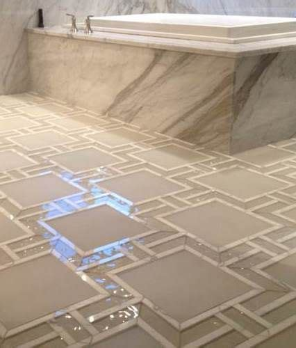 wc fliesen 3359 glass and water jet mosaic river city tile company