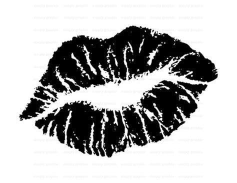 white clipart kiss pencil and in color white clipart kiss