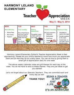 Teacher Appreciation Week Is Teacher Appreciation Week Show Your Appreciation For Teachers At Sle Newsletter Templates For Teachers
