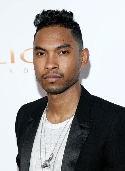 how to have hair like miguel the singer miguel photos photos arrivals at the clio awards in nyc