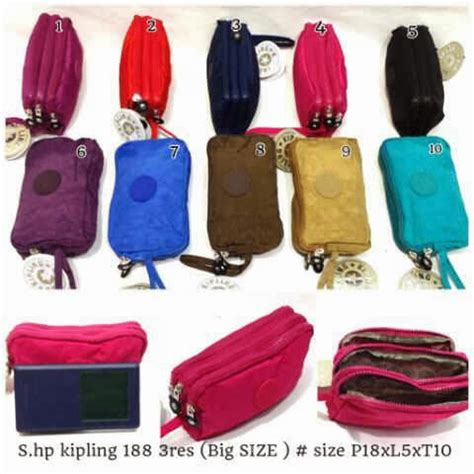 Dompet Hp Kipling 4 Resleting dompet hp 3 resleting terbaru 188 big