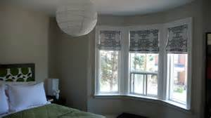 How To Dress Windows Dress My Nest Master Bedroom Bay Window To Drape Or Not