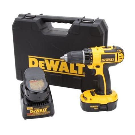 for sale dewalt 18 volt ni cad 1 2 in cordless compact