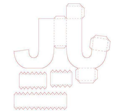 3d letter template 7 best letras 3d images on 3d letters diy and