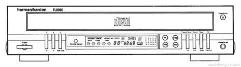 Harman Kardon Fl8300 Manual Compact Disc Changer
