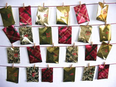 Origami Advent Calendar - top tip tuesday make your own advent calendar sew make